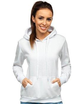 Bluza damska biała kangurka Denley W02