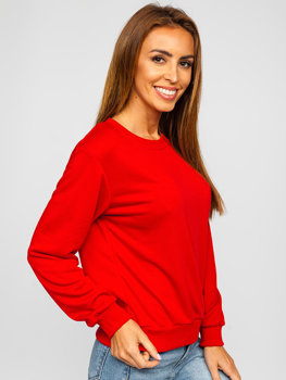 Bluza damska czerwona Denley WB11002