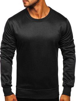 Bluza męska bez kaptura czarna Denley 2001-2