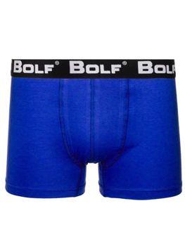 Bokserki męskie niebieskie Bolf 0953
