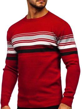 Czerwony sweter męski Denley H2061