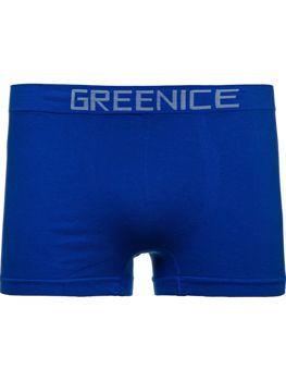 Niebieskie bokserki męskie Denley PL4501