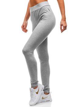 f67d21d43b Spodnie dresowe damskie szare Denley W9995