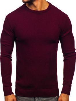 Sweter męski bordowy Denley 312