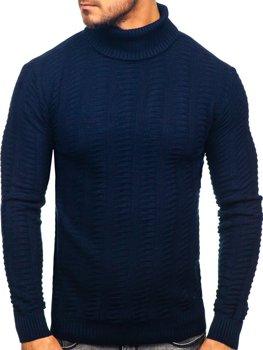 Sweter męski golf granatowy Denley 314