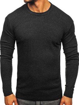 Sweter męski grafitowy Denley 0001