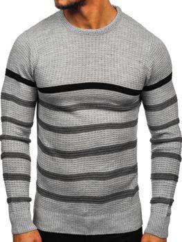 Sweter męski szary Denley 1951