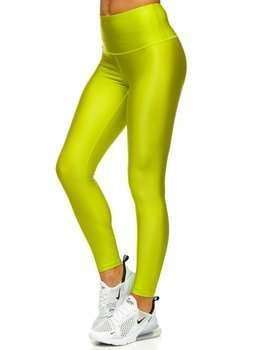 Zielone legginsy damskie Denley YW06010