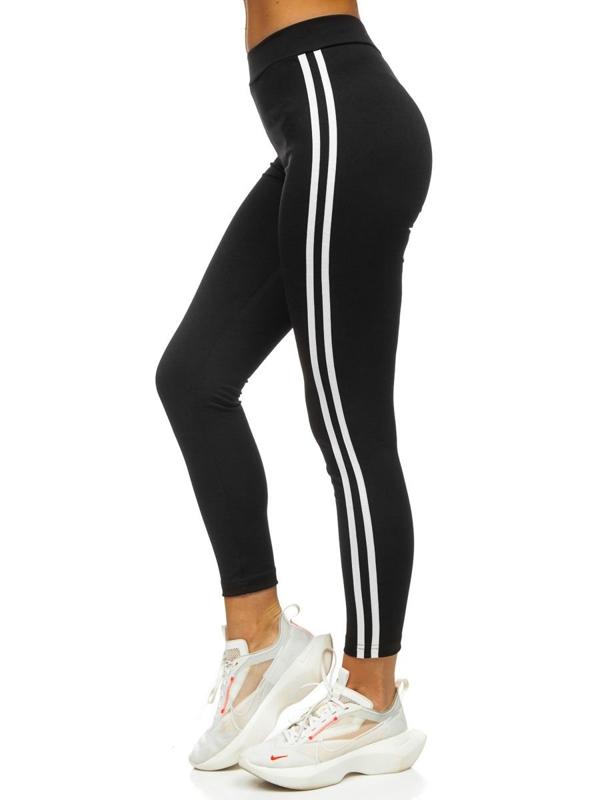 Czarne legginsy damskie Denley CHE011
