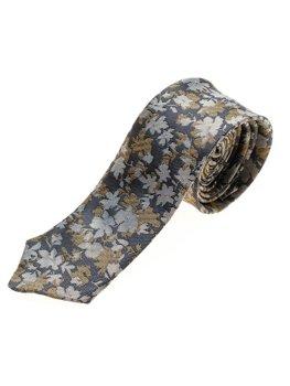 Elegancki krawat męski granatowy Denley K109