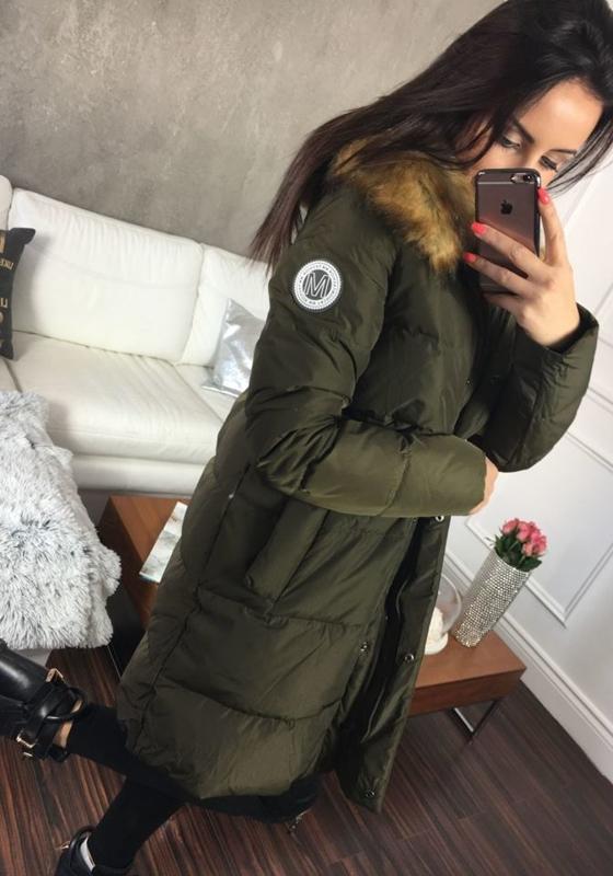 Kurtka zimowa damska khaki Denley 8063