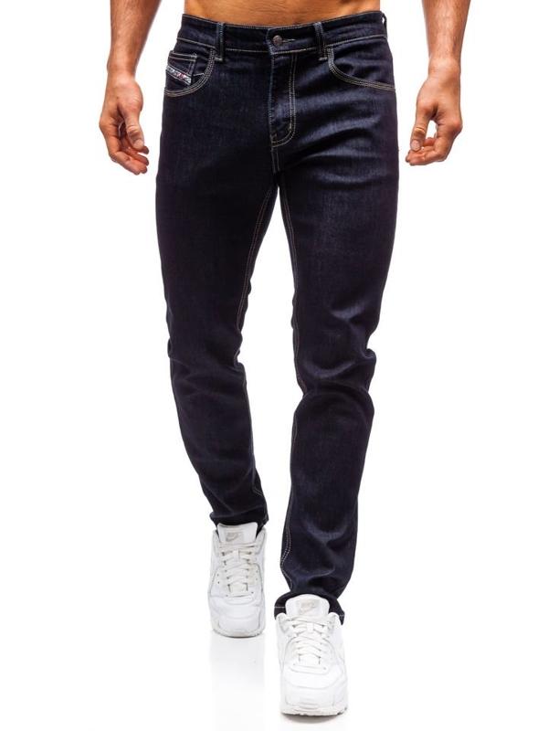 Spodnie jeansowe męskie atramentowe Denley 81832