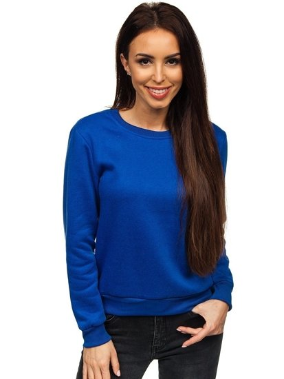 Bluza damska niebieska Denley W01
