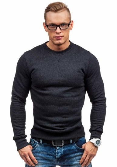 Bluza męska bez kaptura antracytowa Bolf 44S
