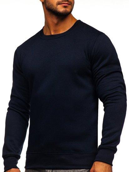 Bluza męska bez kaptura atramentowa Denley 2001