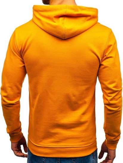 Bluza męska z kapturem camelowa Bolf 5361