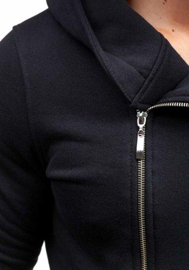 Bluza męska z kapturem czarna Bolf 33S-ZM
