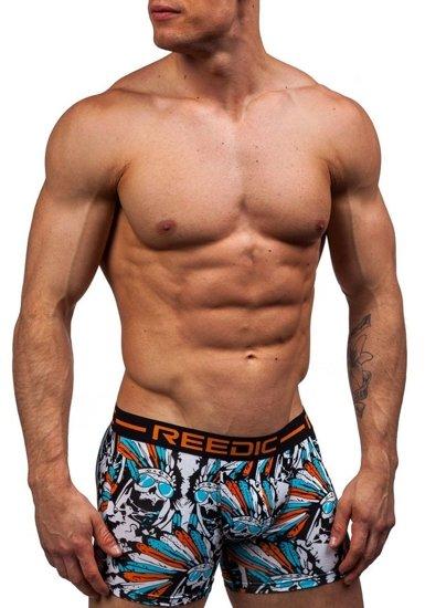 Bokserki męskie pomarańczowe Denley X203