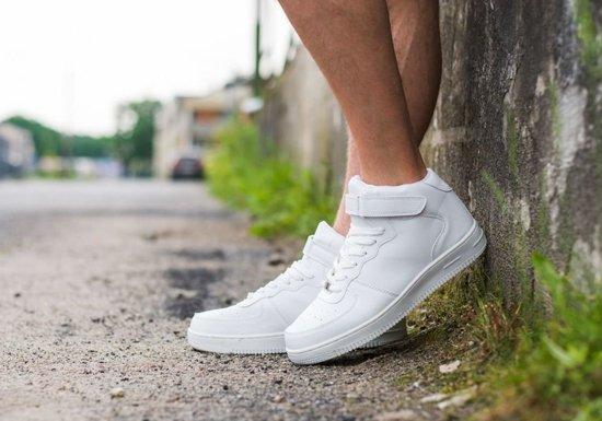 Buty męskie białe Denley 1386