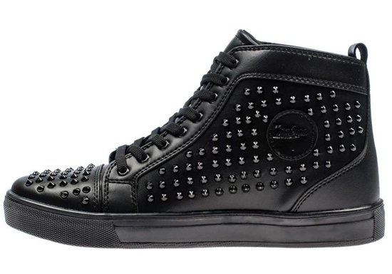 Buty męskie czarne Denley 3018