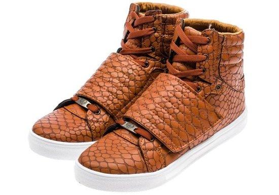 Buty męskie jasnobrązowe Denley 3031
