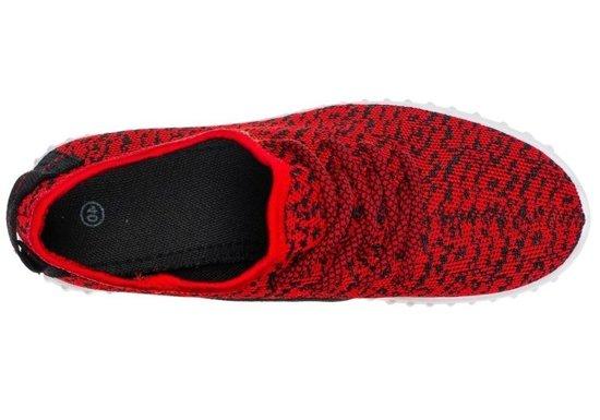 Buty sportowe męskie czerwone Denley 257H