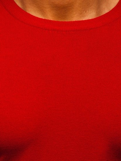 Czerwony sweter męski Denley YY01