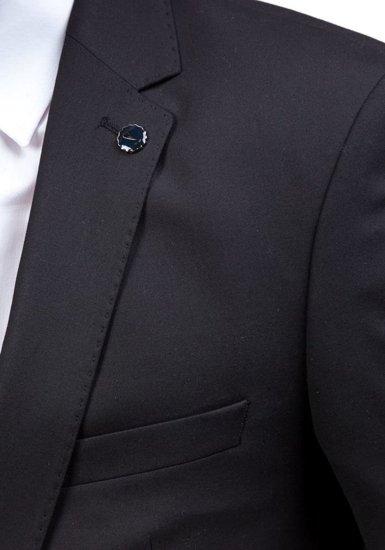 Garnitur męski czarny Bolf 5005-1