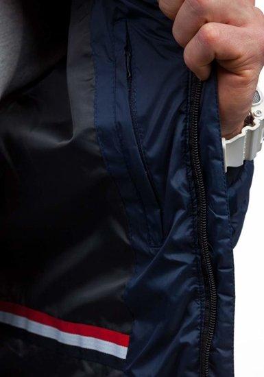 Kurtka męska przejściowa granatowa Denley m503