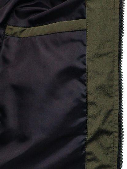 Kurtka męska przejściowa zielona Denley 5622
