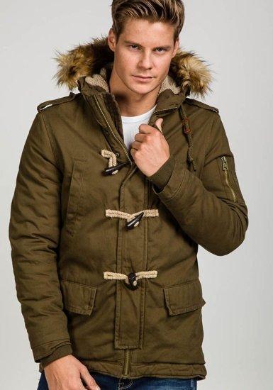 Kurtka męska zimowa khaki Denley 507