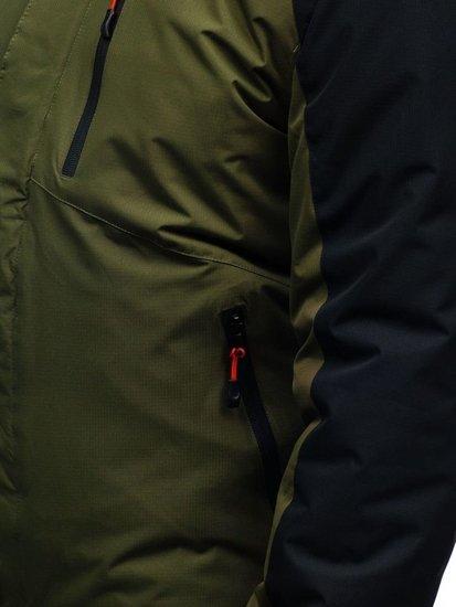 Kurtka męska zimowa zielona Denley HZ8102