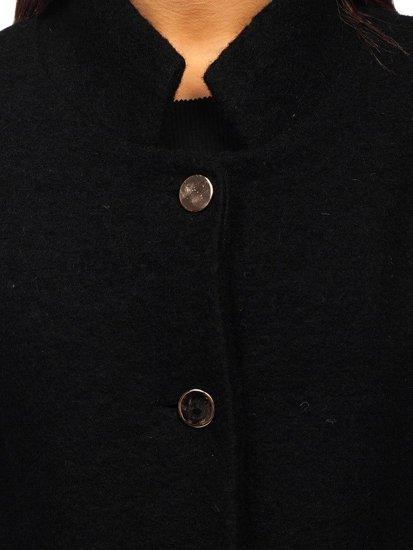 Płaszcz damski czarny Denley 1950