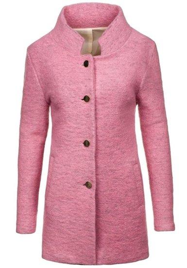 Płaszcz damski różowy Denley 1950