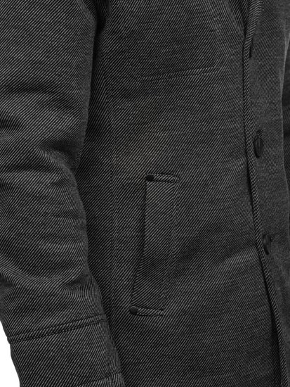 Płaszcz męski szary Denley 1977