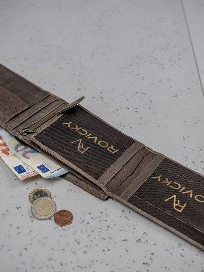 Portfel męski skórzany brązowy 3184