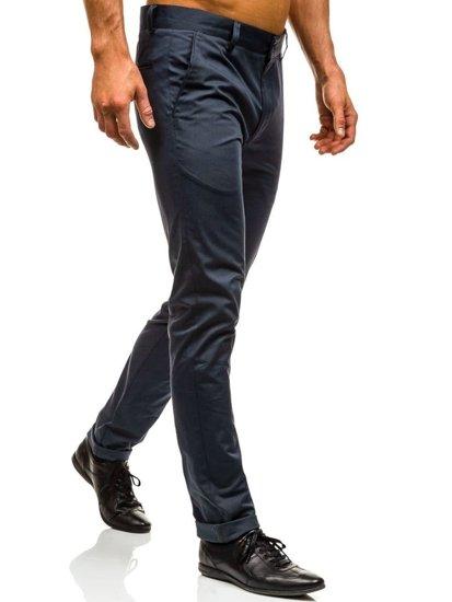 Spodnie wizytowe męskie grafitowe Denley 0204
