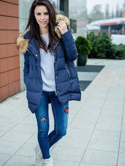 Stylizacja nr 102 - kurtka zimowa, sweter