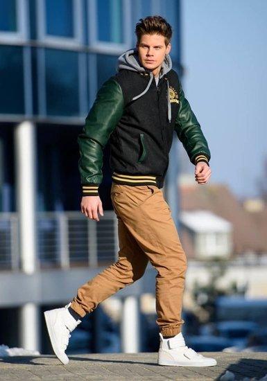 Stylizacja nr 148 - kurtka przejściowa, spodnie joggery, buty sneakersy