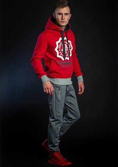 Stylizacja nr 41 - bluza z kapturem, spodnie baggy, buty