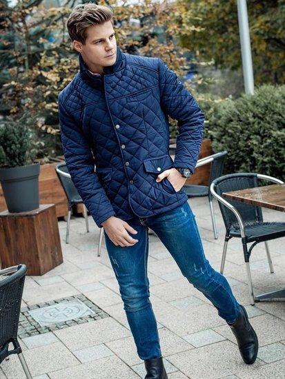 Stylizacja nr 98 - kurtka przejściowa, spodnie jeansowe
