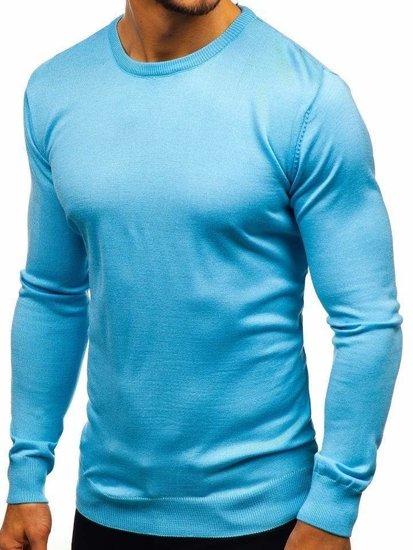 Sweter męski  błękitny Denley 2300