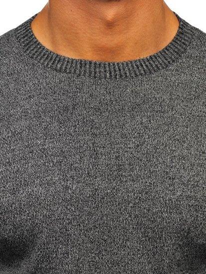 Sweter męski grafitowy Denley 8364