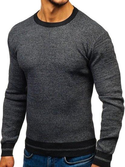Sweter męski grafitowy Denley BM6124