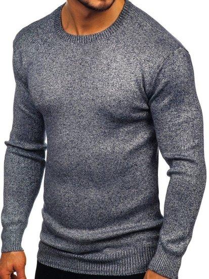 Sweter męski granatowy Denley 8529