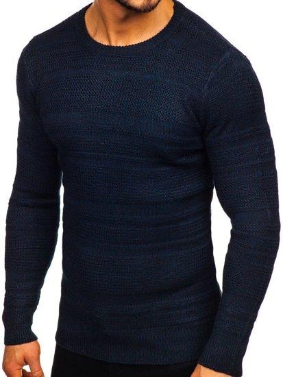 Sweter męski granatowy Denley H1926