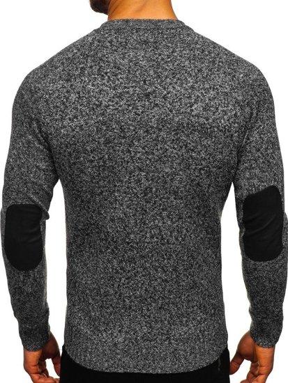Sweter męski szary Denley H1929