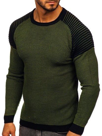 Sweter męski zielony Denley 0004
