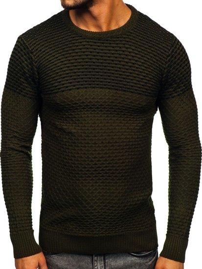 Sweter męski zielony Denley 328