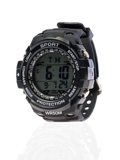 Zegarek męski na rękę czarny Denley 8352